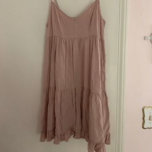 Tiered American Eagle sundress in pink